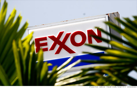 High gas prices weren't enough to lift earnings at Exxon Mobil.
