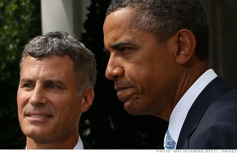 The decline of middle class jobs started long before the financial crisis, President Obama's chief economic adviser Alan Krueger said Thursday.