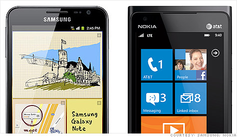Samsung overtook Nokia to become the world's largest cell phone maker in the first quarter.