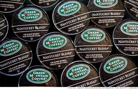 Green Mountain Coffee Roasters shares plummeted in late trading Wednesday afternoon after the company reported quarterly revenue that missed estimates and lowered its guidance for 2012.