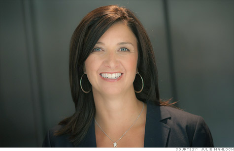 Julie Mahloch made a million dollars in revenue with her  interactive website catering to the beauty needs of aging women.