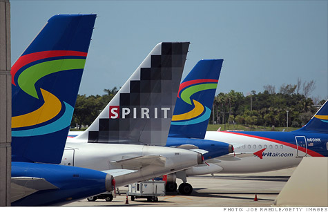 Spirit Airlines will charge $100 for carry-on baggage purchased at the gate, starting Nov. 6.