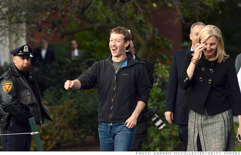 Facebook founder Mark Zuckerberg will collect $1 billion from Facebook's IPO, but he plans to hand almost all of it over to Uncle Sam to pay his taxes.