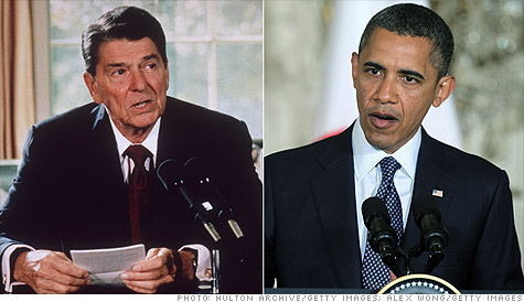 Why Obama can't match the Reagan recovery