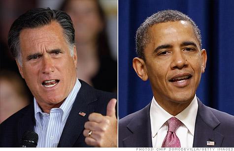 President Obama  Romney