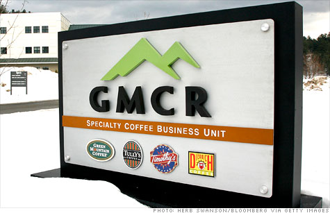 The chairman and founder of Green Mountain Coffee Roasters was removed from his position Tuesday after making stock sales in violation of company policy.