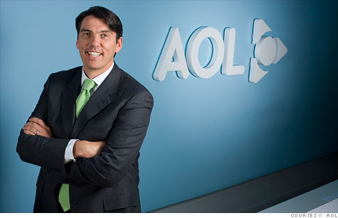AOL CEO Tim Armstrong says the company's latest financial results show that it's in better shape than it was a year ago.