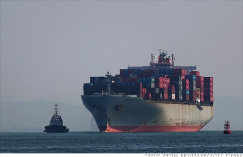 China's international trade slowed way down in April, reflecting the sluggishness of the European economy.