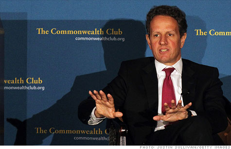 The Treasury, under Secretary Tim Geithner, has said raising investment taxes on high-income investors will help reduce deficits and increase the tax code's progressivity.