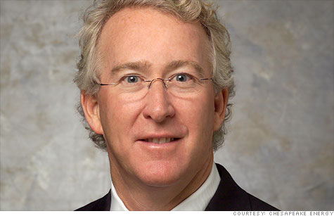 Chesapeake Energy CEO Aubrey McClendon has personally earned over $100 million from sales of the company's drilling wells as part of a controversial compensation arrangement, the firm revealed Friday.