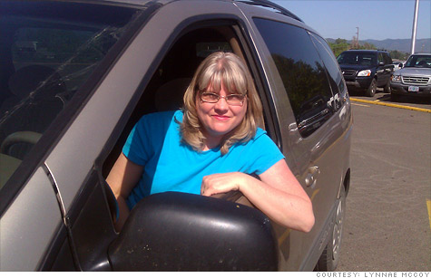 Gas prices are coming down in most of the country, but not for West Coast drivers like Oregon resident Lynnae McCoy.
