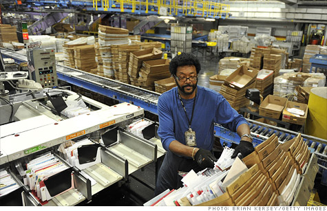 The Postal Service says plant consolidations begin this summer.