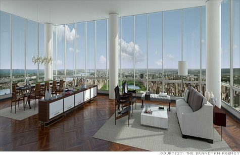 New york penthouse price tag of 90 million may 18 2012 for Penthouse apartments in nyc