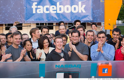 Facebook's IPO: Trading opens at $42 per share - May. 18, 2012
