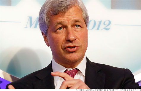Jamie Dimon said he won't publicly tally the losses from JPMorgan's massive bet on corporate bond prices.
