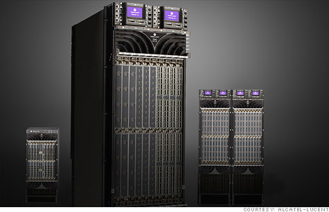 Alcatel-Lucent's new 7950 XRS core router can stream 2.5 million HD videos every second.