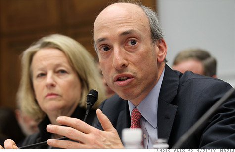 CFTC Chairman Gary Gensler said his agency is investigating losses at JPMorgan Chase.