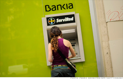 Problems at Bankia and other Spanish banks could force a European bailout of the Spanish banking system.