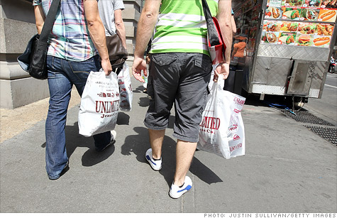 Consumer confidence fell to a five-month low in May.