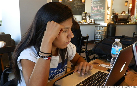 Dream Act entrepreneurs like Carla Chavarria, 19, are young undocumented immigrants who run small U.S. businesses -- but could get kicked out of the country.
