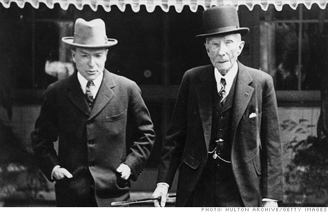 Rockefeller, Rothschild names tied in investment deal