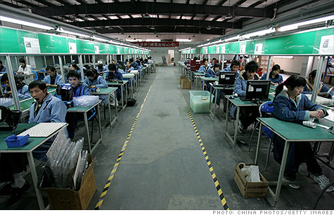 China manufacturing PMI falls sharply