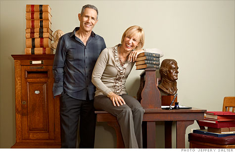 Levenger founders Steve and Lori Leveen: