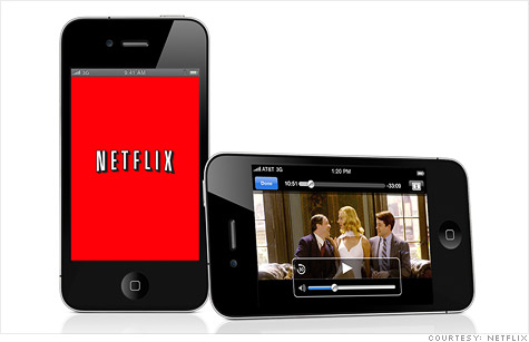 netflix online video revenue