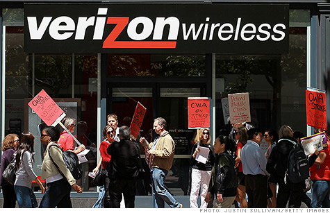 Verizon offers buyouts to cut 1,700 jobs