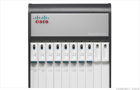 Cisco's ASR 5500 mobile packet core will help make networks more intelligent and allow operators to charge differently for various types of content.