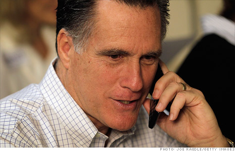 Romney fielded questions from small business owners Wednesday, promising to tackle taxes, regulation and health care reform.