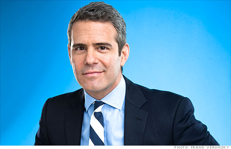 Andy Cohen, Bravo's senior VP of development and talent and the host of Watch What Happens Live