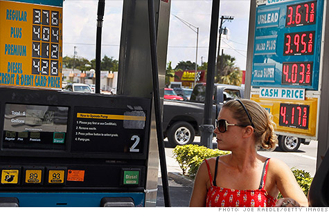 Lower gas prices cut into overall retail sales in May.