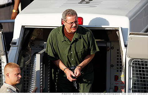 Disgraced financier Allen Stanford was sentenced to 110 years in prison on Thursday for orchestrating a $7 billion fraud, one of the largest in U.S. history.