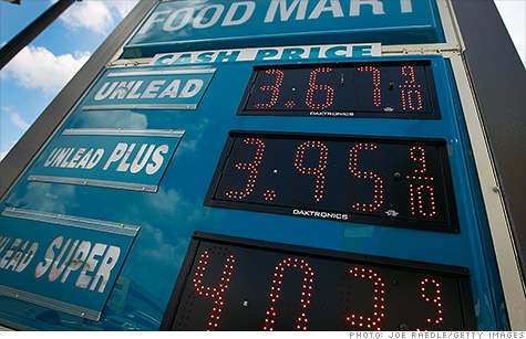 Gas prices fell 6.8% in May, driving overall inflation lower during the month, the government reported Thursday.