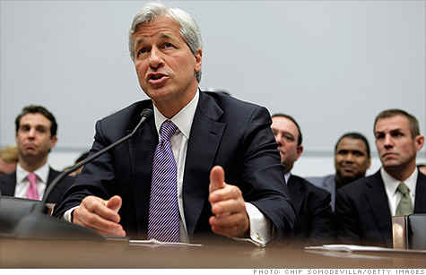 JPMorgan's CEO Jamie Dimon testified on Capitol Hill for a second time Tuesday to discuss the bank's multi-billion trading loss.