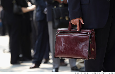 About 387,000 people filed new jobless claims last week.