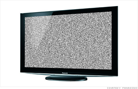 Worldwide shipments of flat-screen TVs have declined, marking a first for LCDs, a research firm reports.