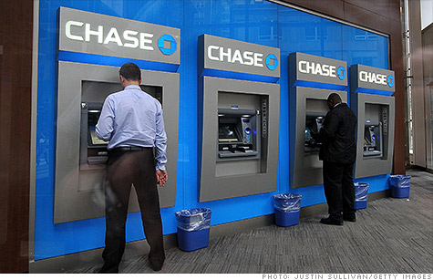 Chase To Scrap Overdraft Fees For Purchases Of Or Less Jun - Map of chase banks in the us