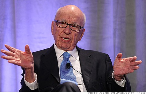 Rupert Murdoch might split News Corp. into two companies, according to news reports.