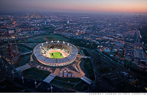 A few ways you can travel to London to enjoy the 2012 Olympics without breaking the bank.