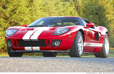 This Ford GT will be sold by RM Auctions on July 28, It's expected to go  for at least $175,000. Ford GT's have never been worth less than their original sticker prices.