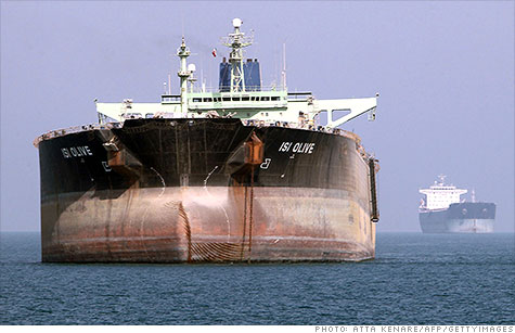 Sanctions may have cut Iran's oil exports by a million barrels a day. Yet the country is still producing oil at full tilt and storing the excess on tankers, as cutting back is complicated and potentially harmful.
