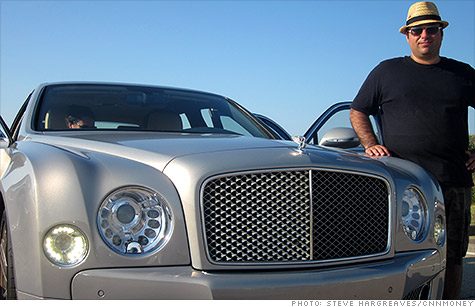 The $350,000 Bentley Mulsanne is a car-lover's dream. Driving it in New York City traffic isn't.
