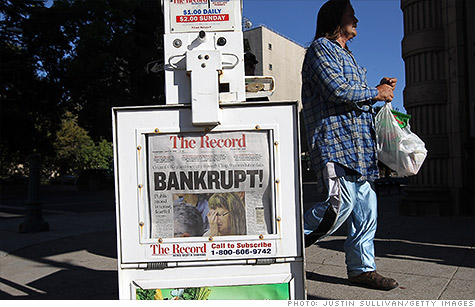 Stockon was the first in a string of California bankruptcies.