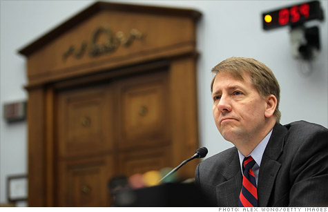 CFPB director Richard Cordray says supervising the credit reporting market