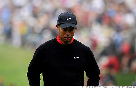 Tiger Woods is no longer the best-paid athlete. Click on photo for full rankings from SI.com.