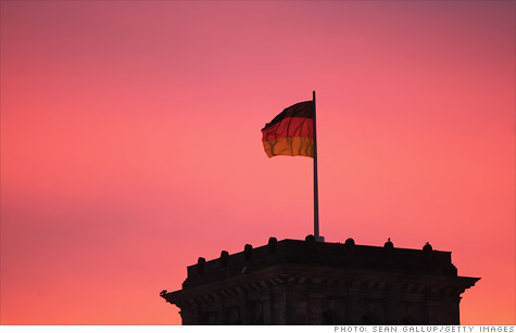 Rating agency Moody's cut the outlook on Germany's prized Aaa rating from