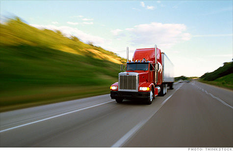 There are hundreds of thousands of job openings for long haul truckers, but the call of the open road isn't getting many takers.