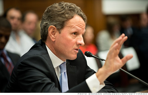 Treasury Secretary Tim Geithner defended his role at the New York Fed, which got early reports of Libor rigging.